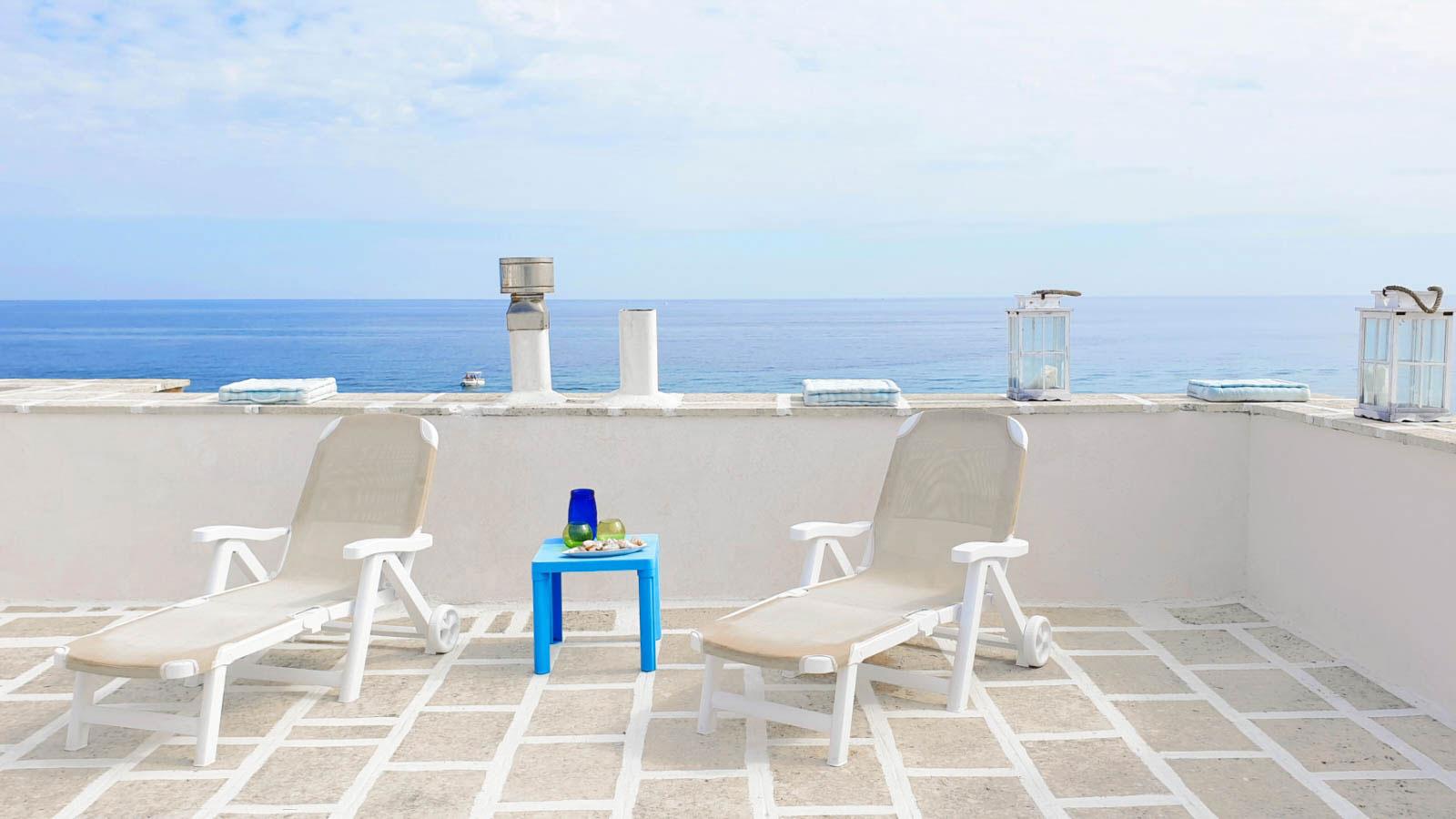 vacanze ostuni casa corallo terrazza vista mare