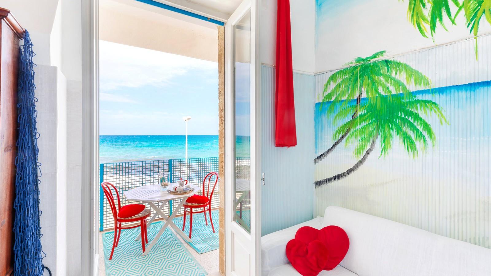 vacanze ostuni casa corallo vista soggiorno