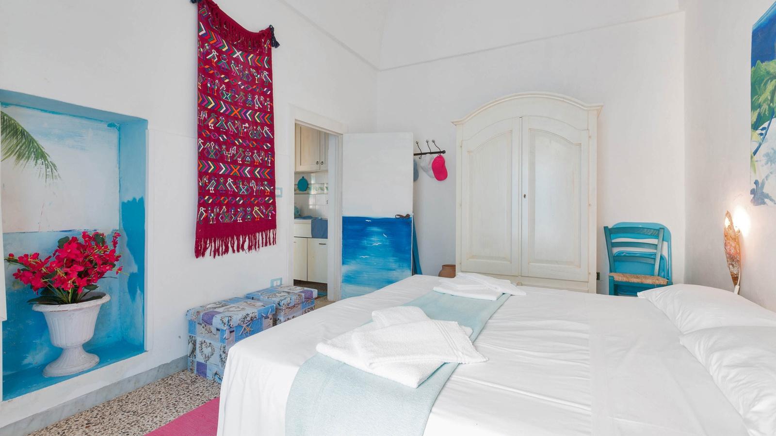 vacanze ostuni casa giovanna camera da letto