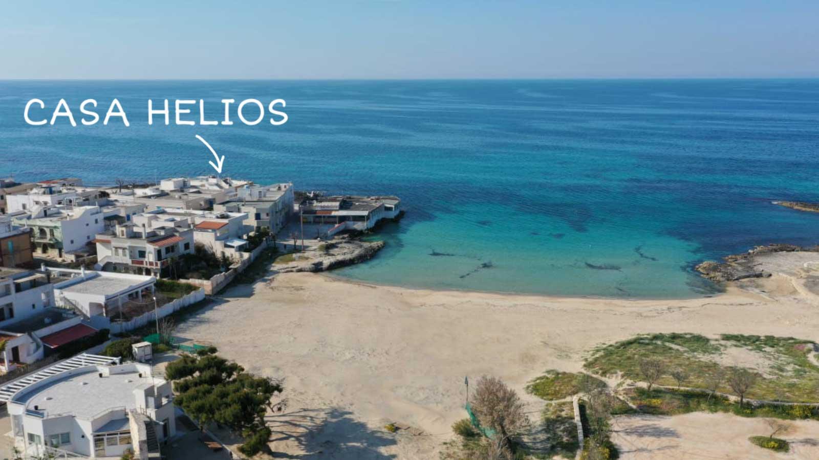 vacanze ostuni casa helios spiaggia drone