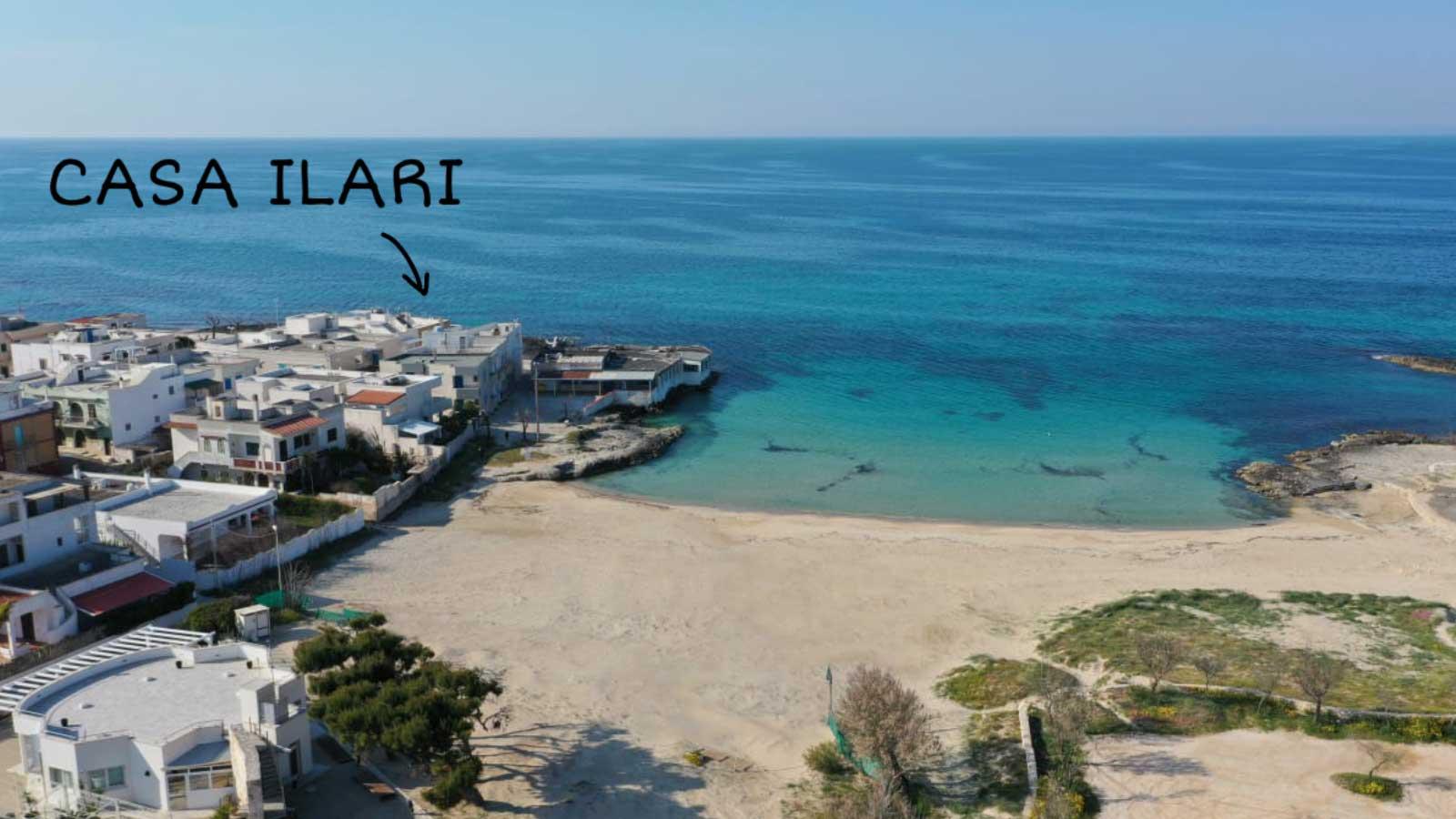 vacanze ostuni casa ilari spiaggia drone