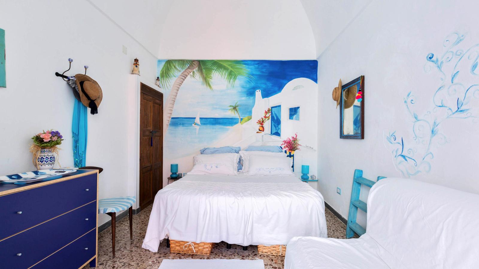 vacanze ostuni casa lorenzo camera da letto