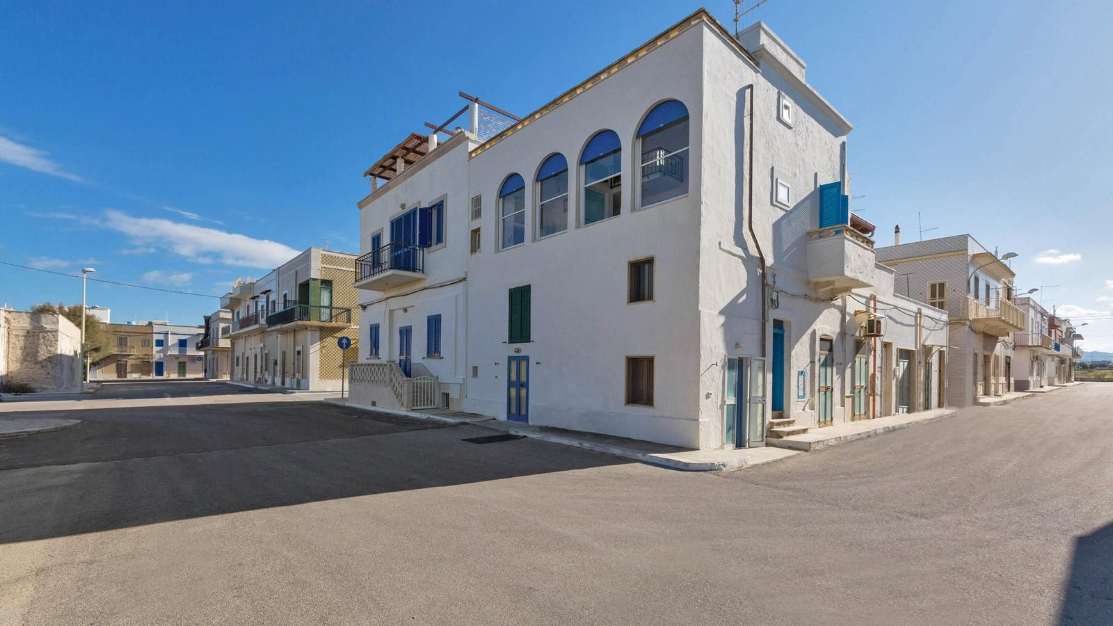 vacanze ostuni casa lorenzo prospetto