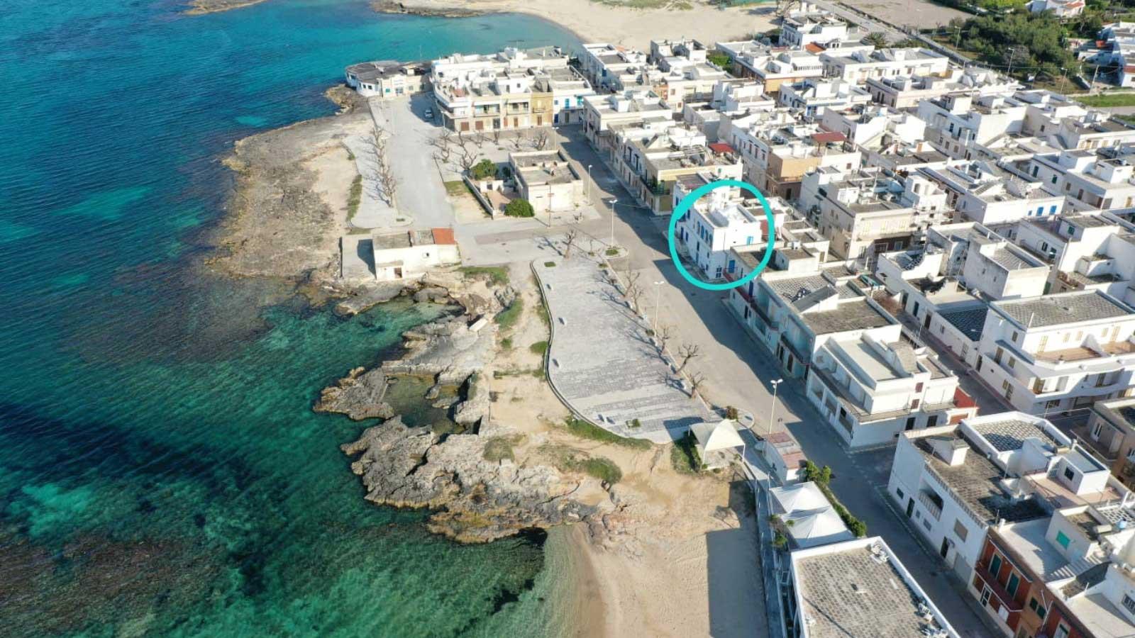 vacanze ostuni casa marco spiaggia drone