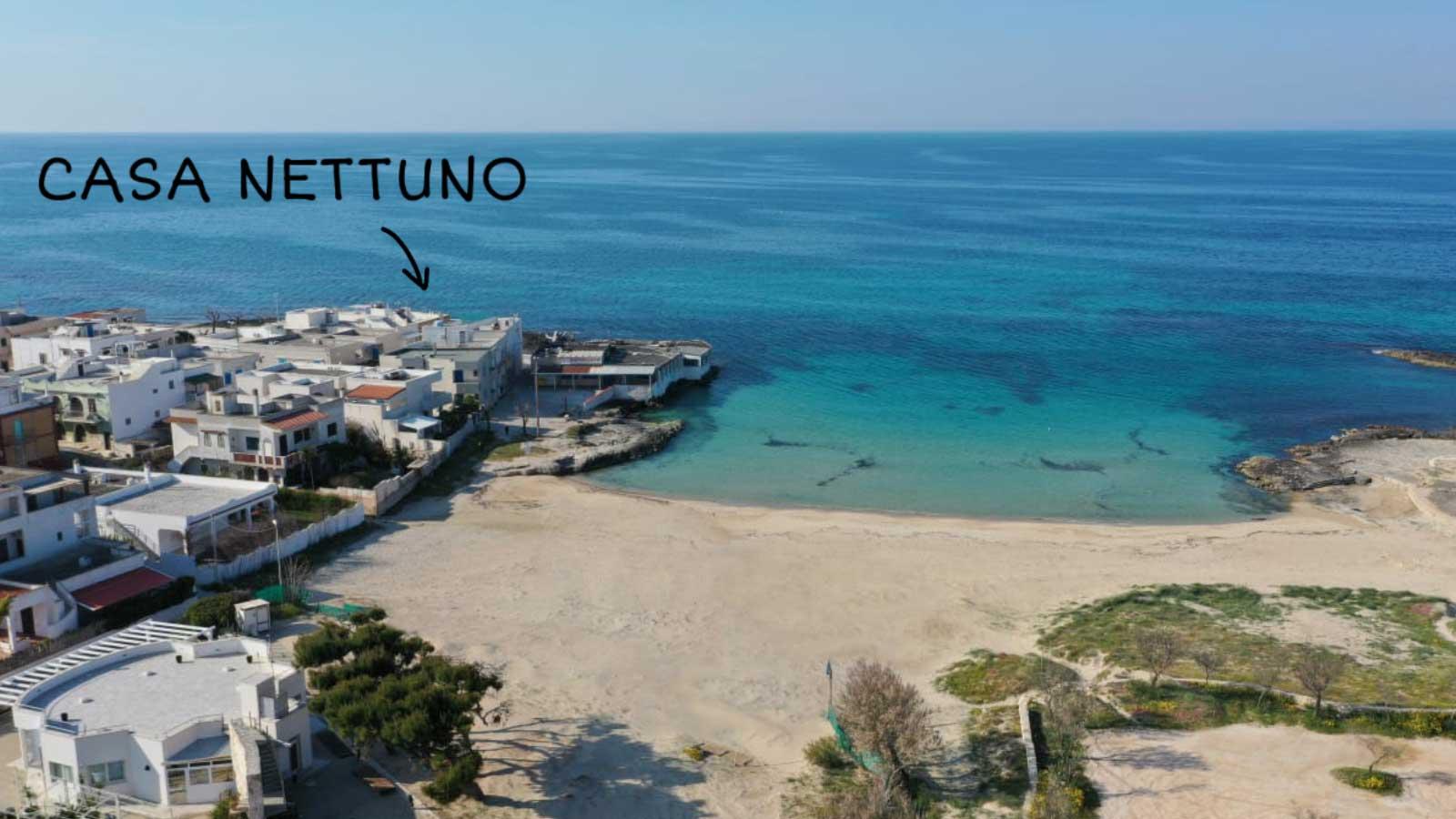 vacanze ostuni casa nettuno spiaggia drone