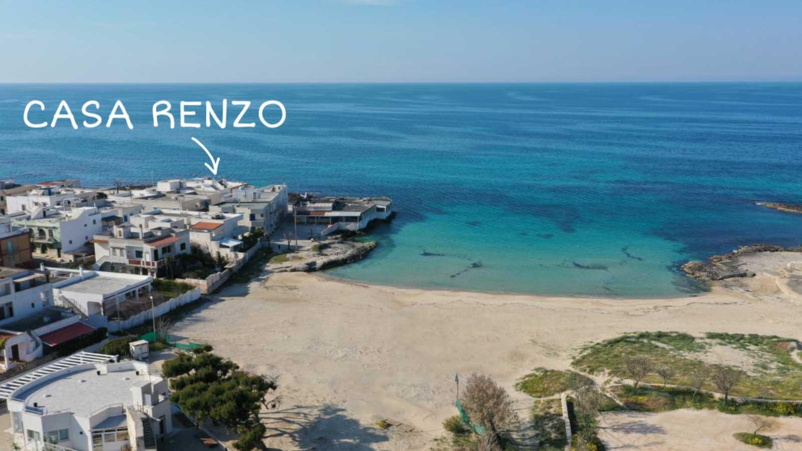 vacanze ostuni casa renzo spiaggia drone