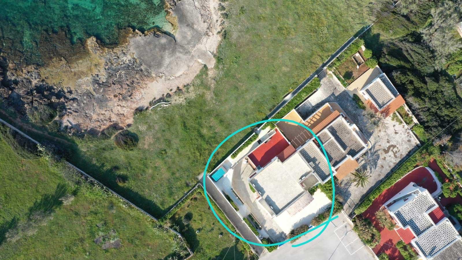 vacanze ostuni villa lairo vista drone